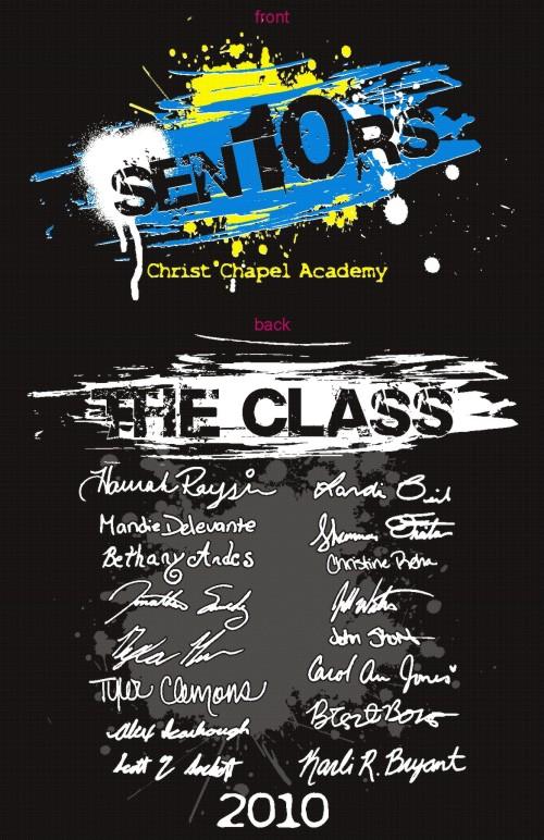 Shirt art senior class custom t shirts designs school for Class t shirts ideas
