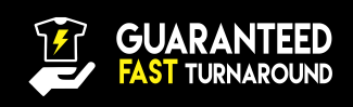 Fast turnaround time for your Online Spirit Wear Store