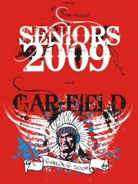 Custom Senior Class T-Shirt Ideas Front and Back Print