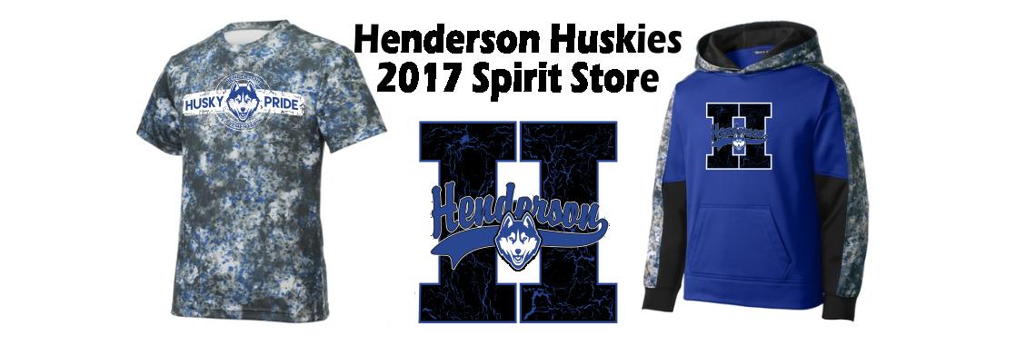 Henderson Spiritwear Store 2017